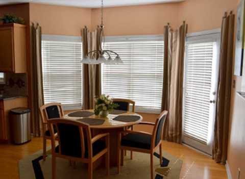 Window Treatments available at Ramsey Flooring in Detroit Lakes.