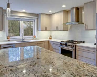 Quartz Countertops thru Ramsey Flooring