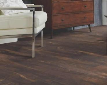 Waterproof vinyl plank is available at Ramsey Flooring.