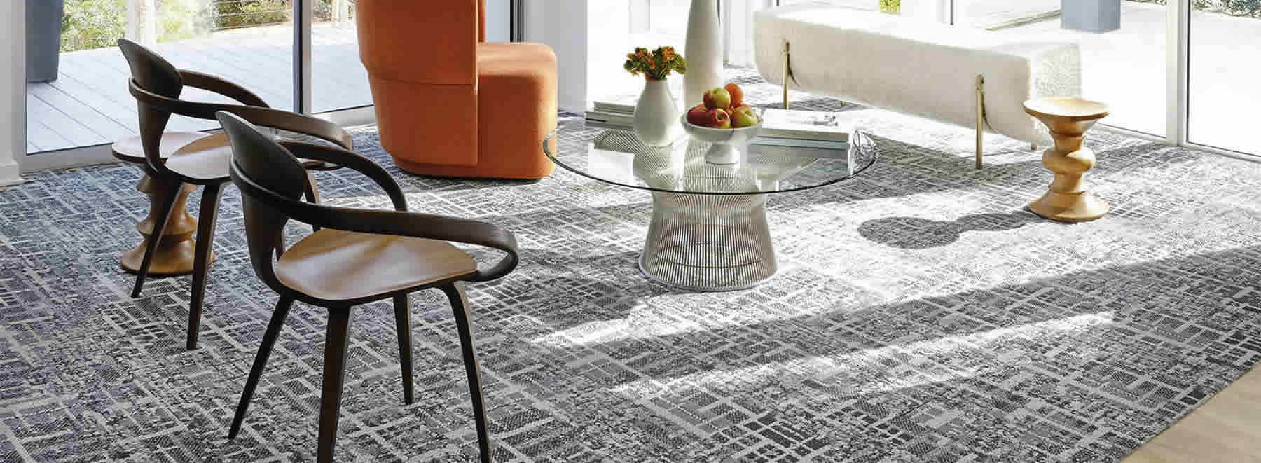 Ramsey Flooring sells Shaw Commercial Carpeting.