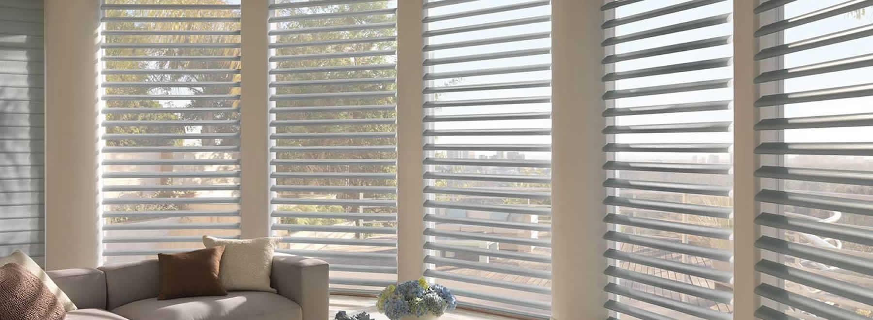 Get HunterDouglas blinds and window treatments.